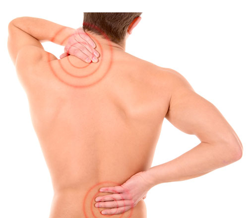 sports massage - back pain